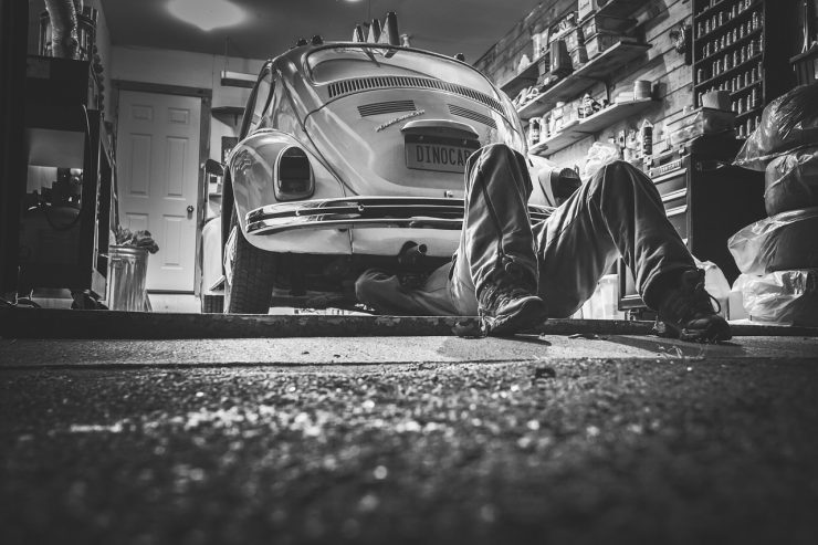 reperowanie samochodu
